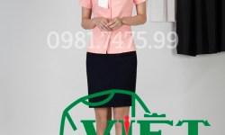 Mẫu đồng phục spa nữ giá bình dân ở VIỆT ĐỒNG PHỤC nên lựa chọn