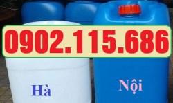 Can nhựa 25 lít, can nhựa 25 lít đựng hóa chất, can nhựa dày 25 lít, can nhựa đựng hóa chất, can nhựa 2 nắp,