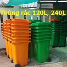 Thùng rác 40lit 60lit nắp kín giá rẻ, thùng rác công cộng-0911.041.000