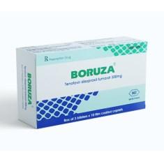 Thuốc Boruza – Tenofovir disoproxil fumarat 300mg – Công dụng, Liều dùng, Giá bán
