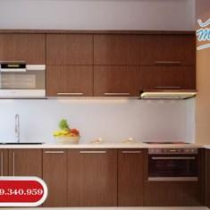 Cung cấp tủ bếp Melamine giá rẻ tại TPHCM