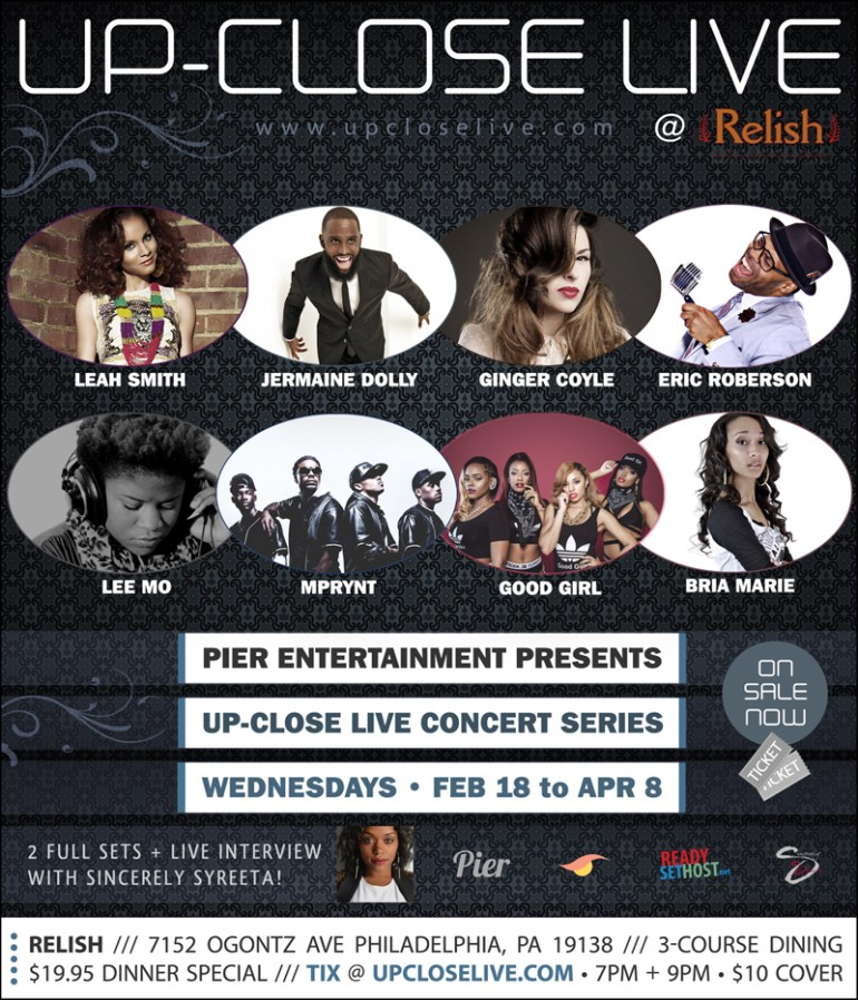 UP-CLOSE LIVE Concert Series Presented by Pier Entertainment