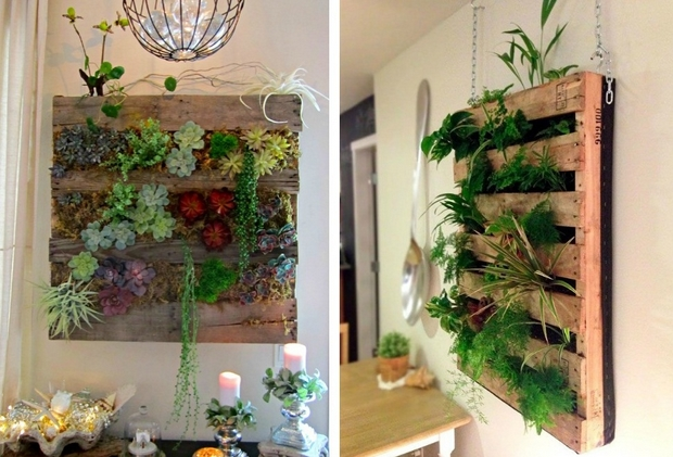 Lacasa Decoracion 21 Vertical Pallet Garden Ideas For Your Backyard Or Balcony