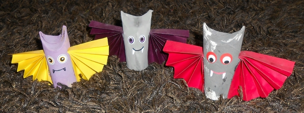 Sun Arts Halloween Crafts For Kids - 19 Upcycled Toilet Paper Rolls