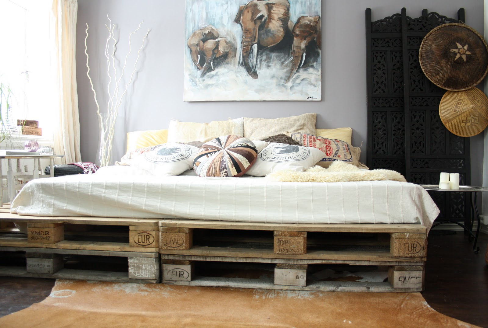 Bett Shabby Look 20 Brilliant Wooden Pallet Bed Frame Ideas For Your House