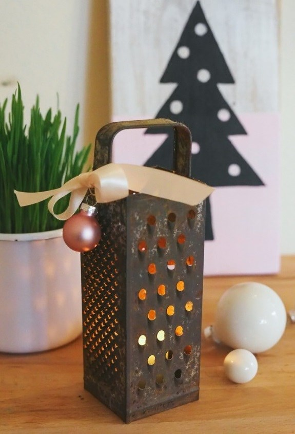 Milk Decoration Upcycle Cheese Grater - 11 Of The Best Diy Ideas Ever