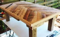 Find Out How To Make A Pallet Coffee Table