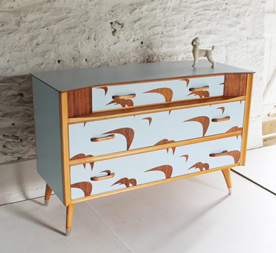 Vintage Sideboard Cornwall Upcycled Furniture By Lucy Turner - Upcyclist