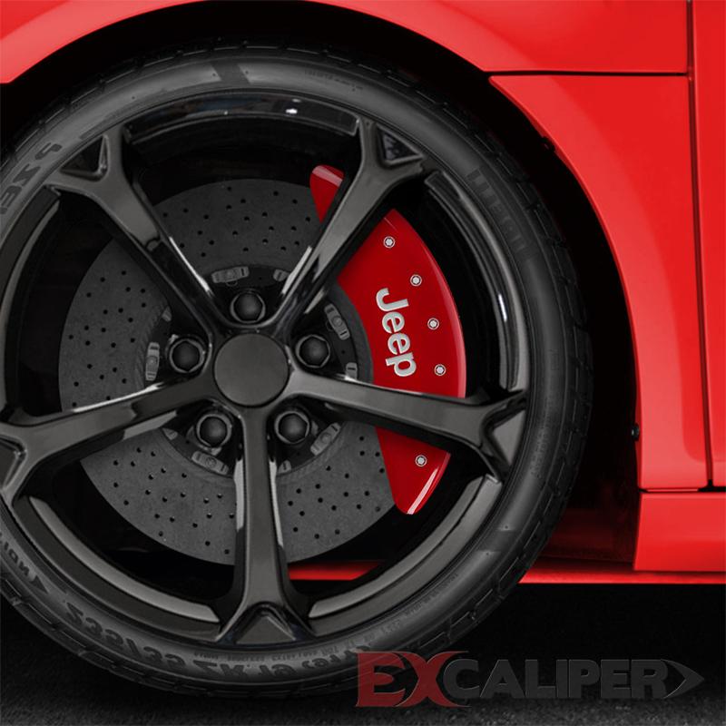 2013 Honda Civic Si Car Wallpaper Excaliper Red Caliper Covers For 2014 2017 Jeep Cherokee