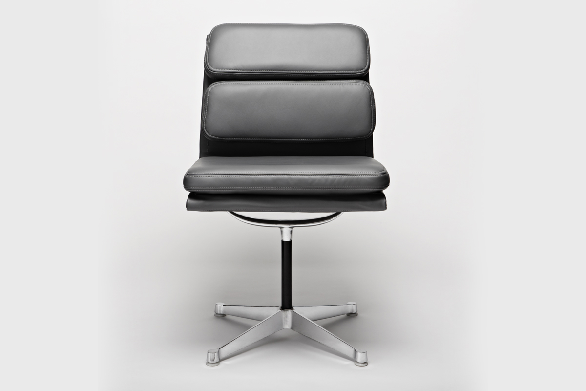 Soft Pad Chairs By Charles And Ray Eames Upholster London - Eames Chair London