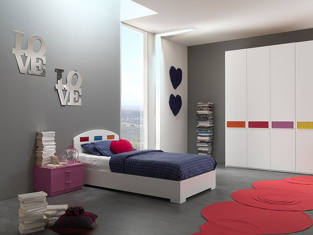 For Low Cost Kids' Room Interior Design
