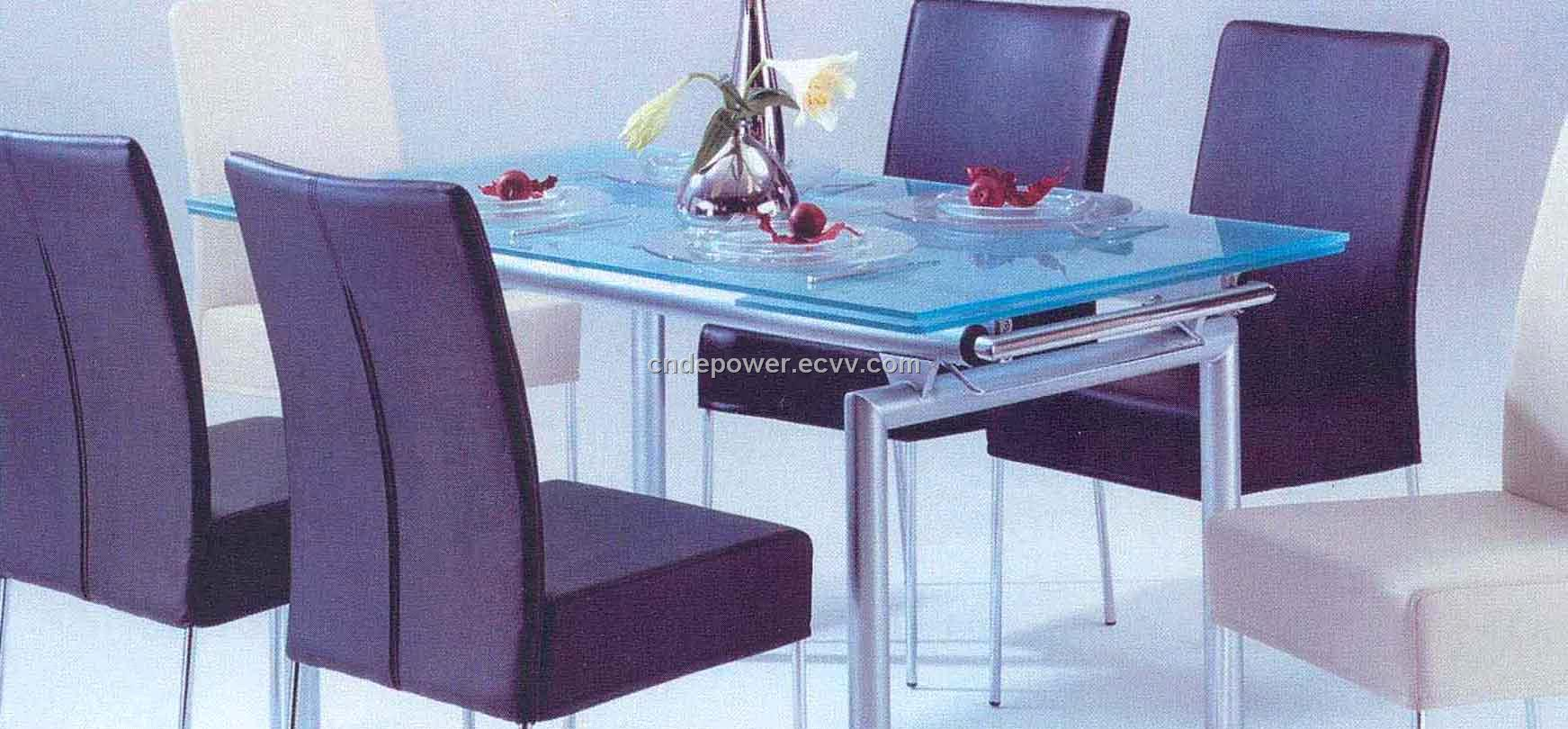 Glass Dining Table And Chairs Dining Table Set