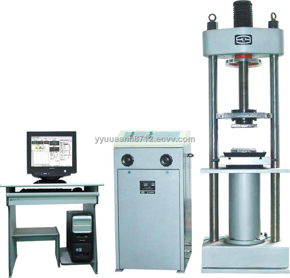 Machine Hydraulic Computer Display Hydraulic Direct Compression Testing Machine