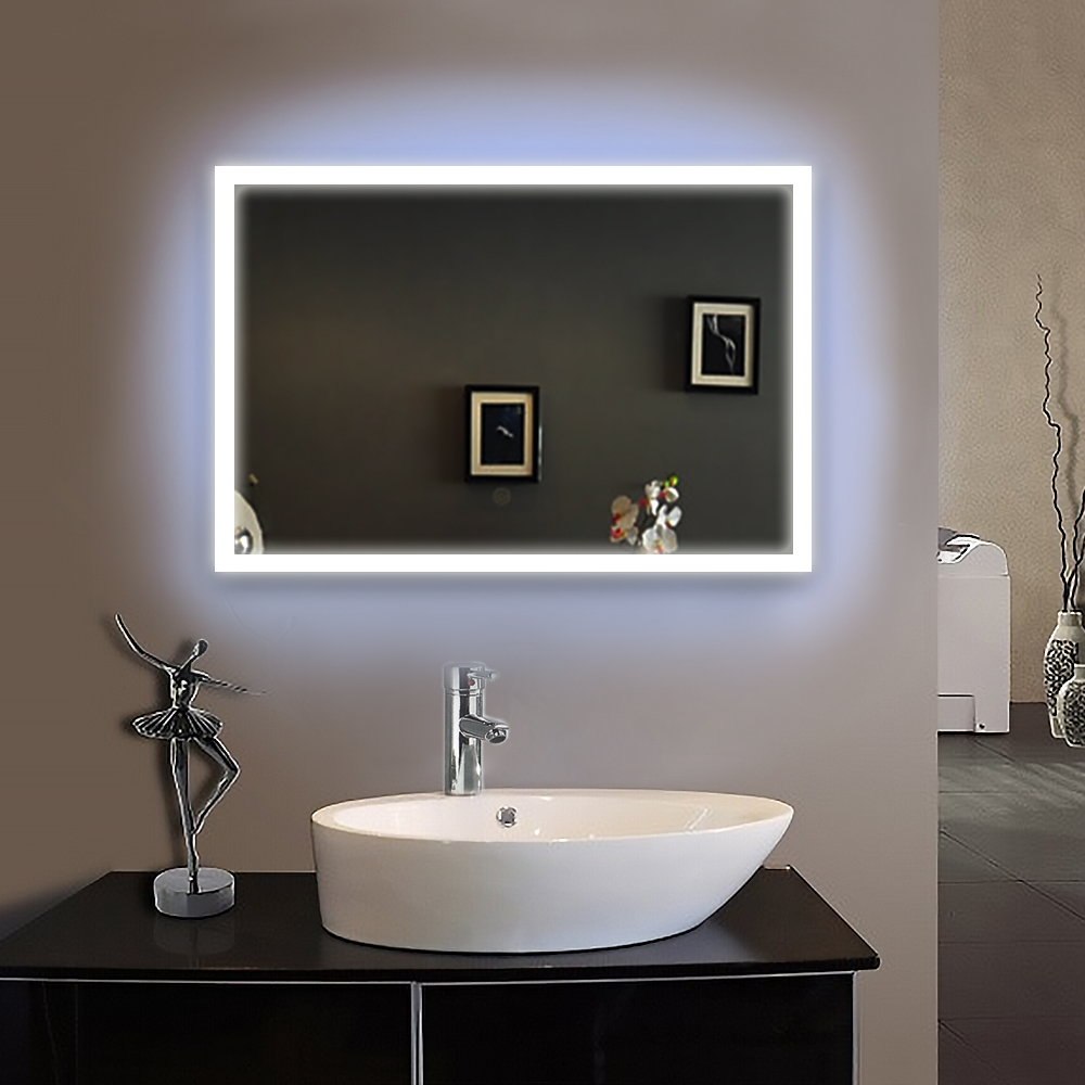 90 240v 50x70cm Bath Mirror Frame Led Illuminated Framed Bath Mirror Bathroom Mirrors Wall Hung Mirrors Ip44 E102 Fast Shipping Piece Specifications Price Quotation Ecvv Industrial Products