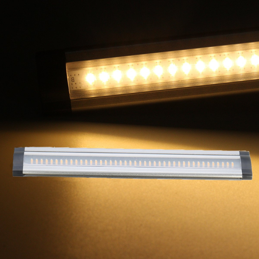 Led Light Strips Under Counter Mayitr 30cm Led Kitchen Under Cabinet Cupboard Strip Light