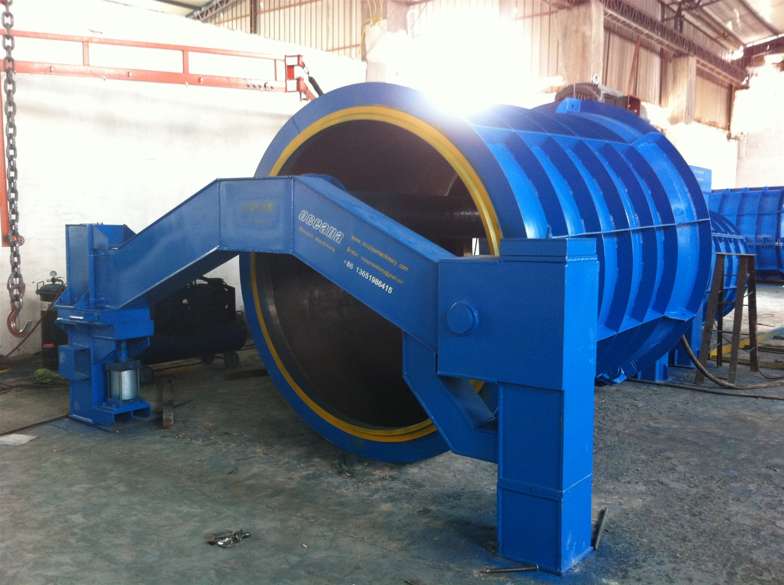 Cement Beton Drain Pipe Application And Cement Pipe Material Beton Pipe Making Machine