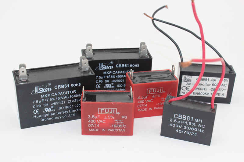 Cbb61 AC Fan Capacitor, Ceiling Capacitor with UL Certificate