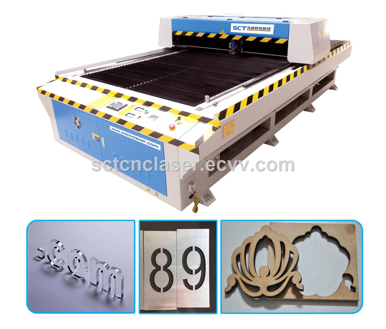 Laser Cutting Machine Metal Sct 1325 Metal Non Metal Laser Cutting Machine