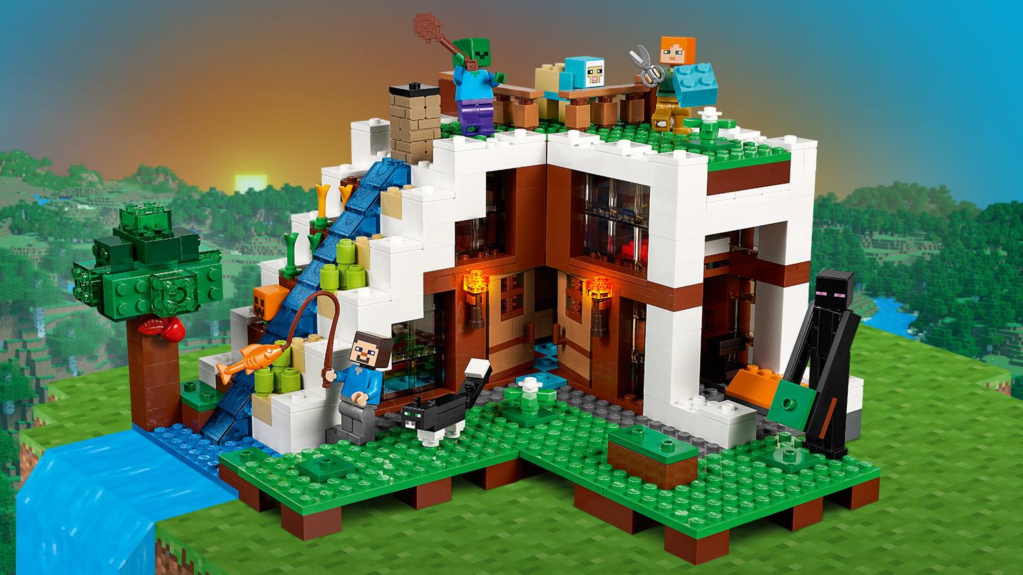Fall Waterfall Wallpaper Minecraft Derni 232 Res News Lego Minecraft 6 Nouvelles