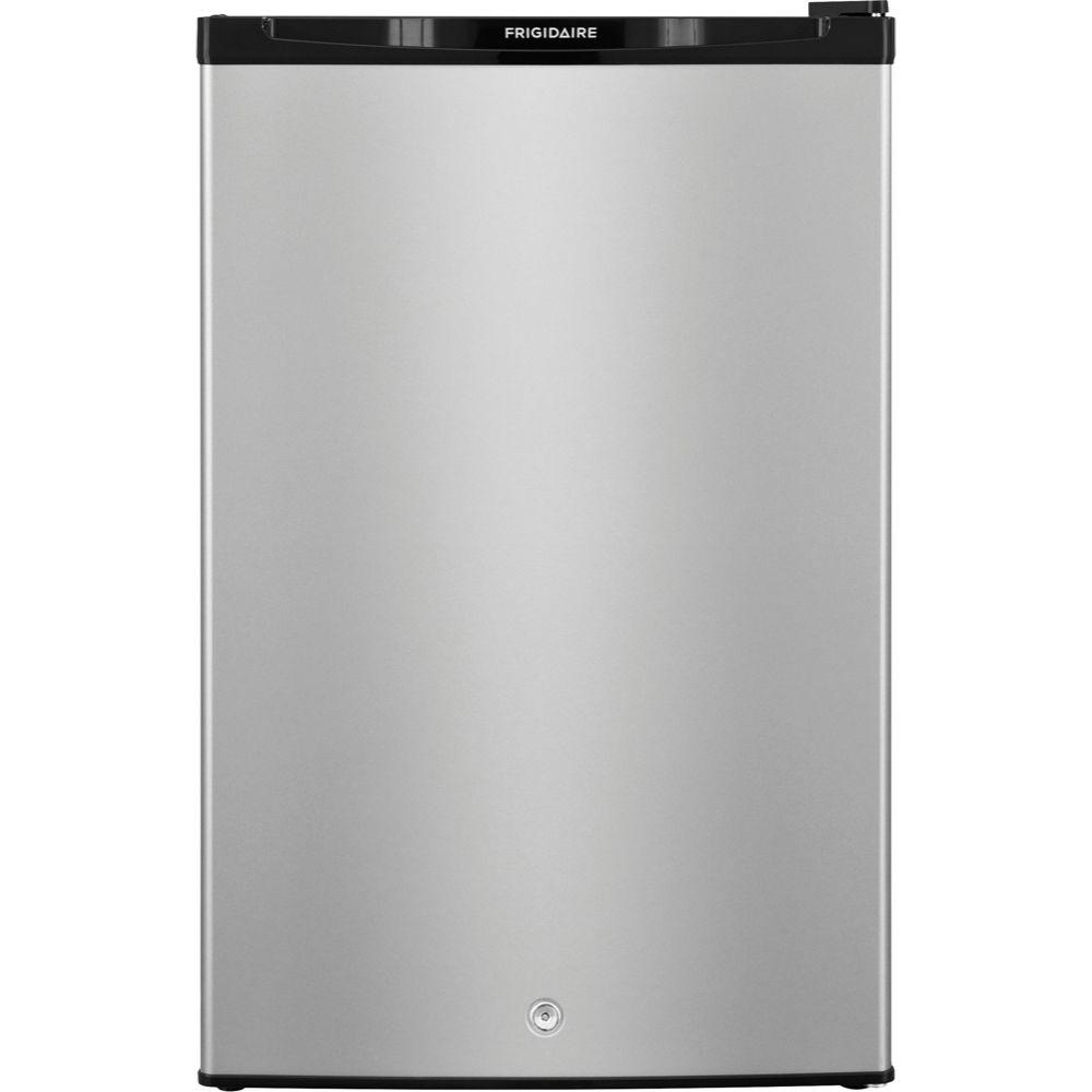 Mini Fridge And Freezer 4 5 Cu Ft Mini Refrigerator With Full Freezer In Silver Mist Energy Star