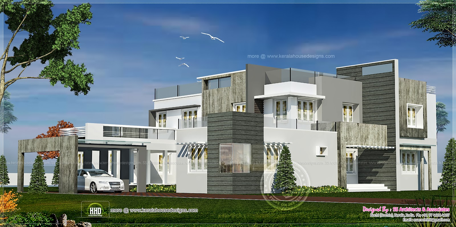 Modern Double Storey Houses Contemporary Double Storey House Plans Double Storey House