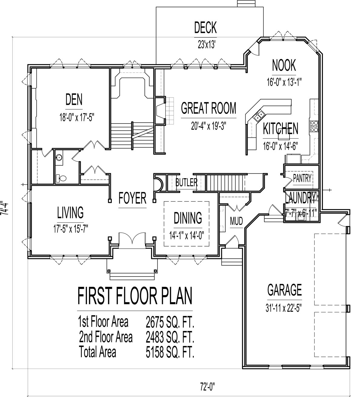1500 Sq Ft House Plans 5000 Sq Ft House Floor Plans 1500 Sq Ft House 2 Story 5