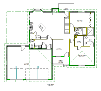 Floor Plan DWG File Free Download CAD Drawing of Floor