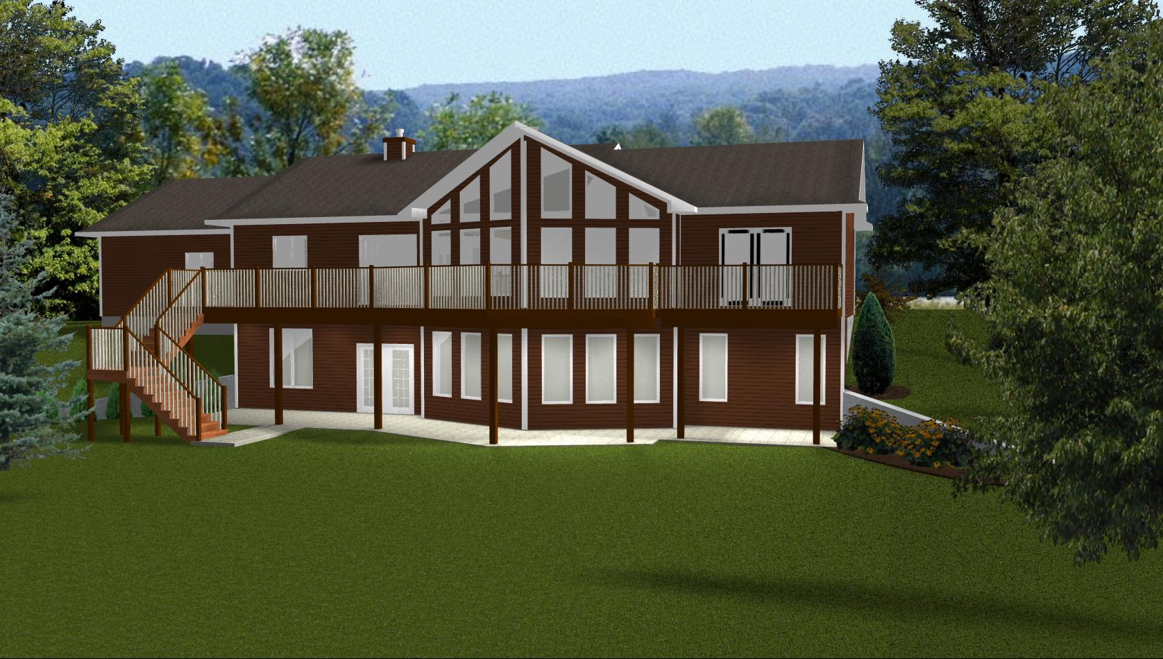 Walkout Basement Ideas Floor Plans Ranch Style House Ranch Style House Plans With