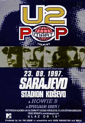 Card Wallpaper Hd Koncert U2 A U Sarajevu Wikipedia