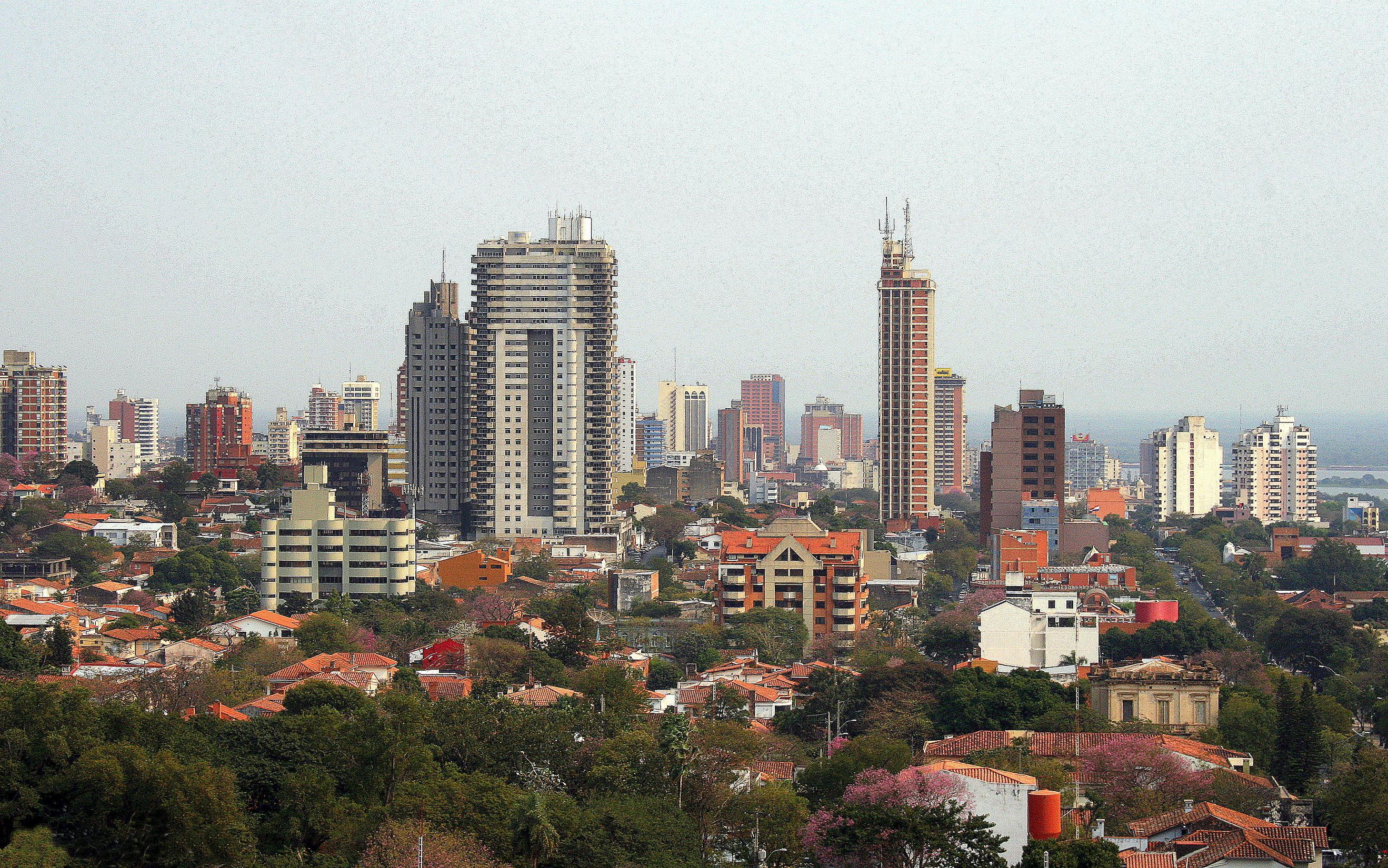 Skyscraper Wallpaper Hd File Asunci 211 N Asunci 243 N Paraguay Jpg Wikimedia Commons