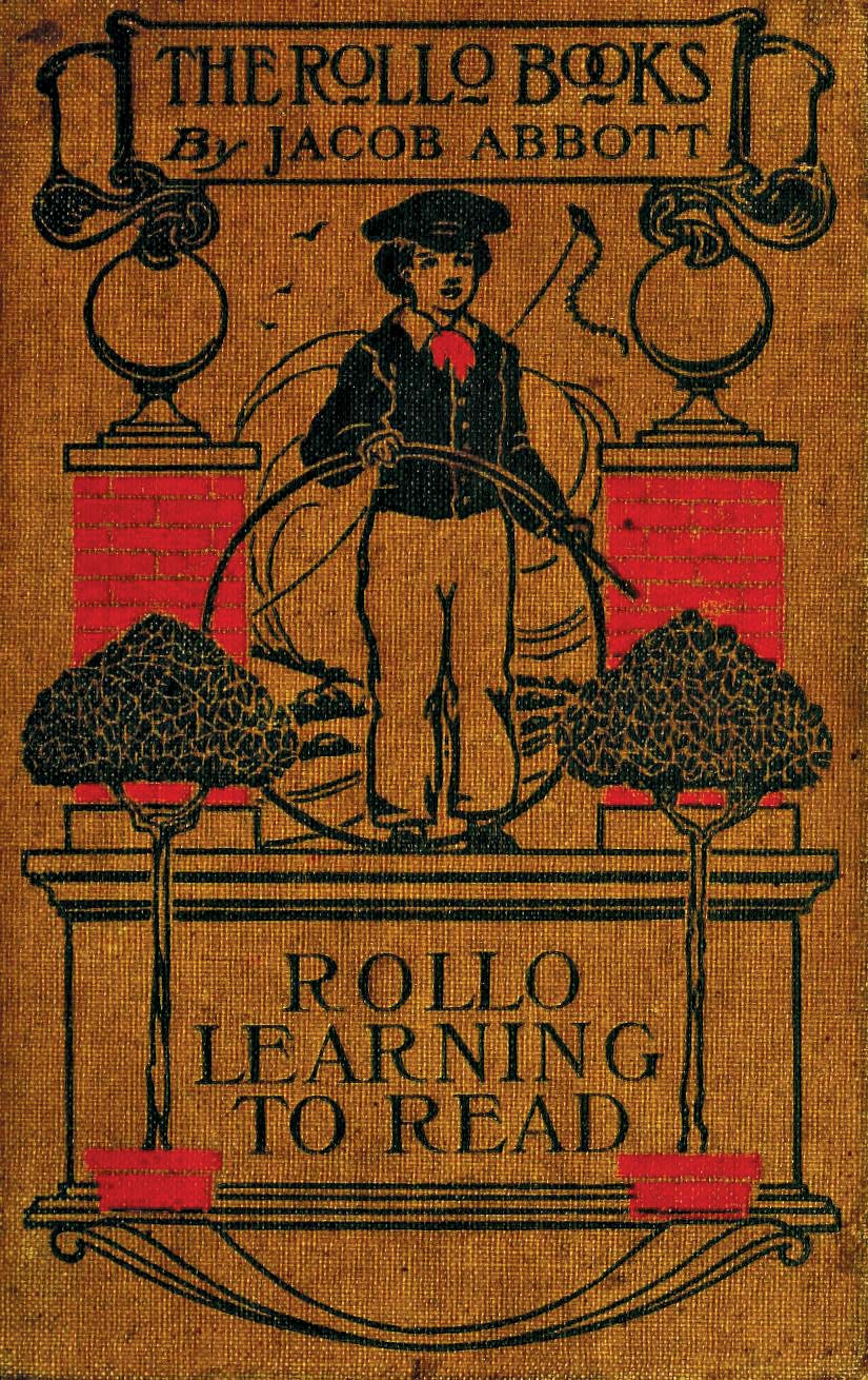 Rollo 24 File Rollo Learning To Read Book Cover 1855 Jpg Wikimedia Commons