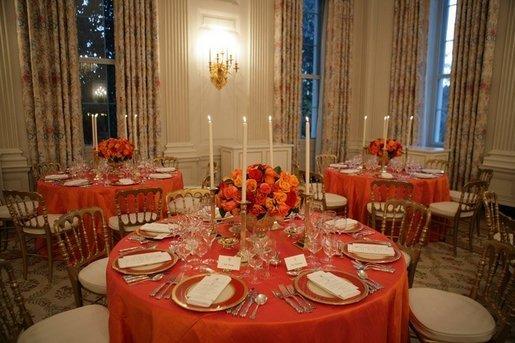 File white house dinner table settings reagan china jpg