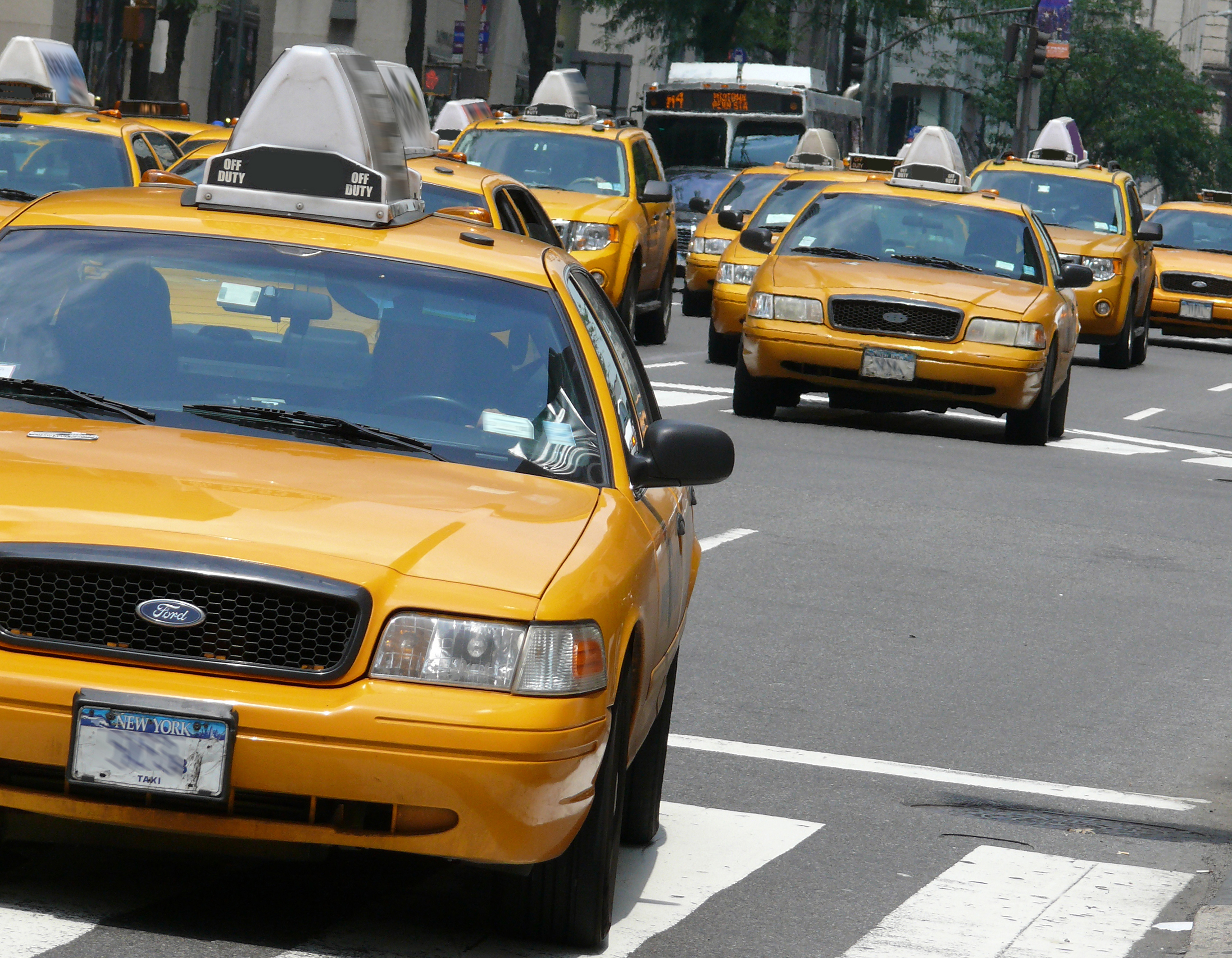 Le Cab Taxi Fichier Yellow Cabs 2 Jpg Wikipédia