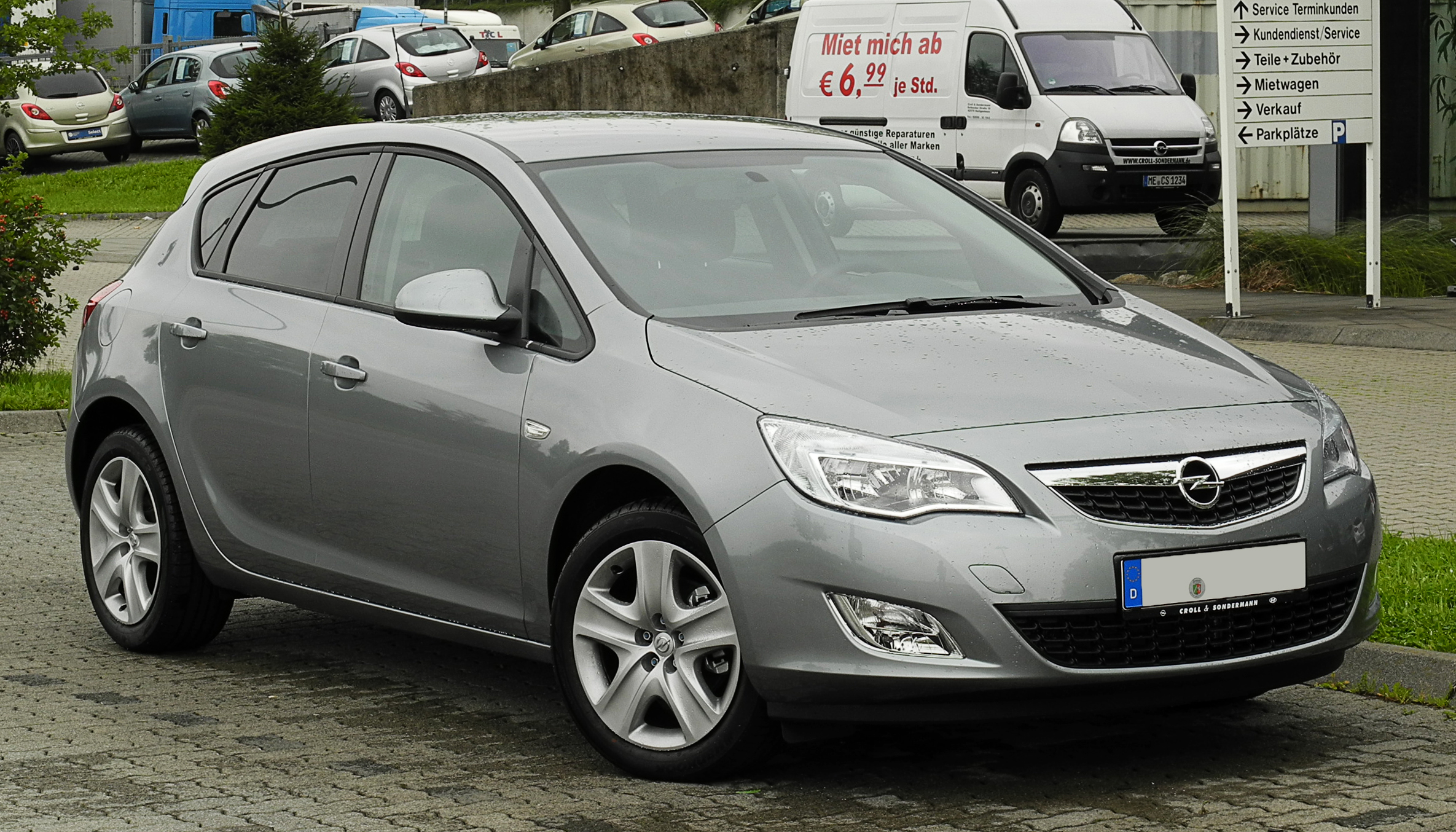 Opel Astra File Opel Astra Design Edition J Frontansicht 1 14