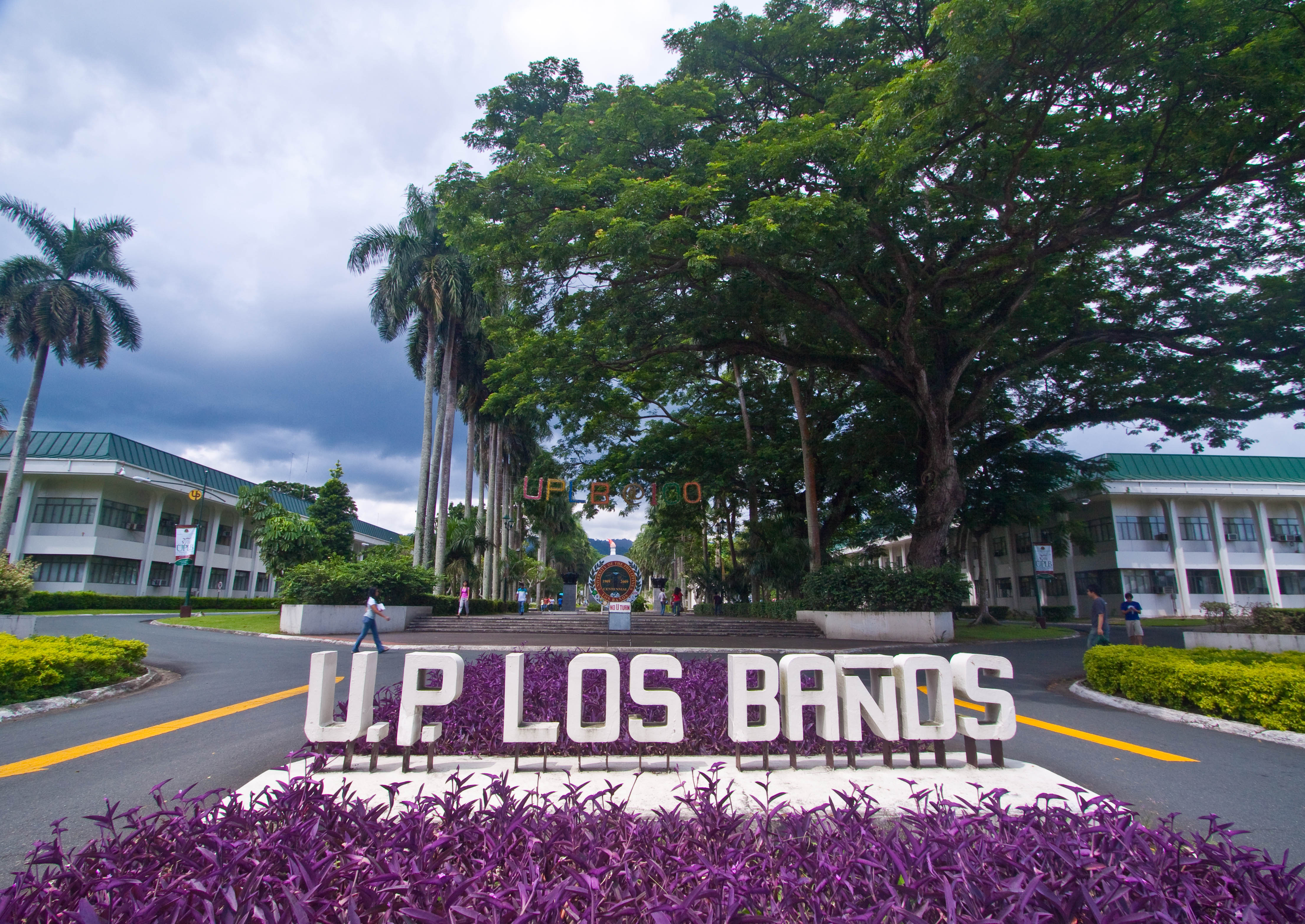 Los Baños Archivo University Of The Philippines At Los Banos Gate Jpg
