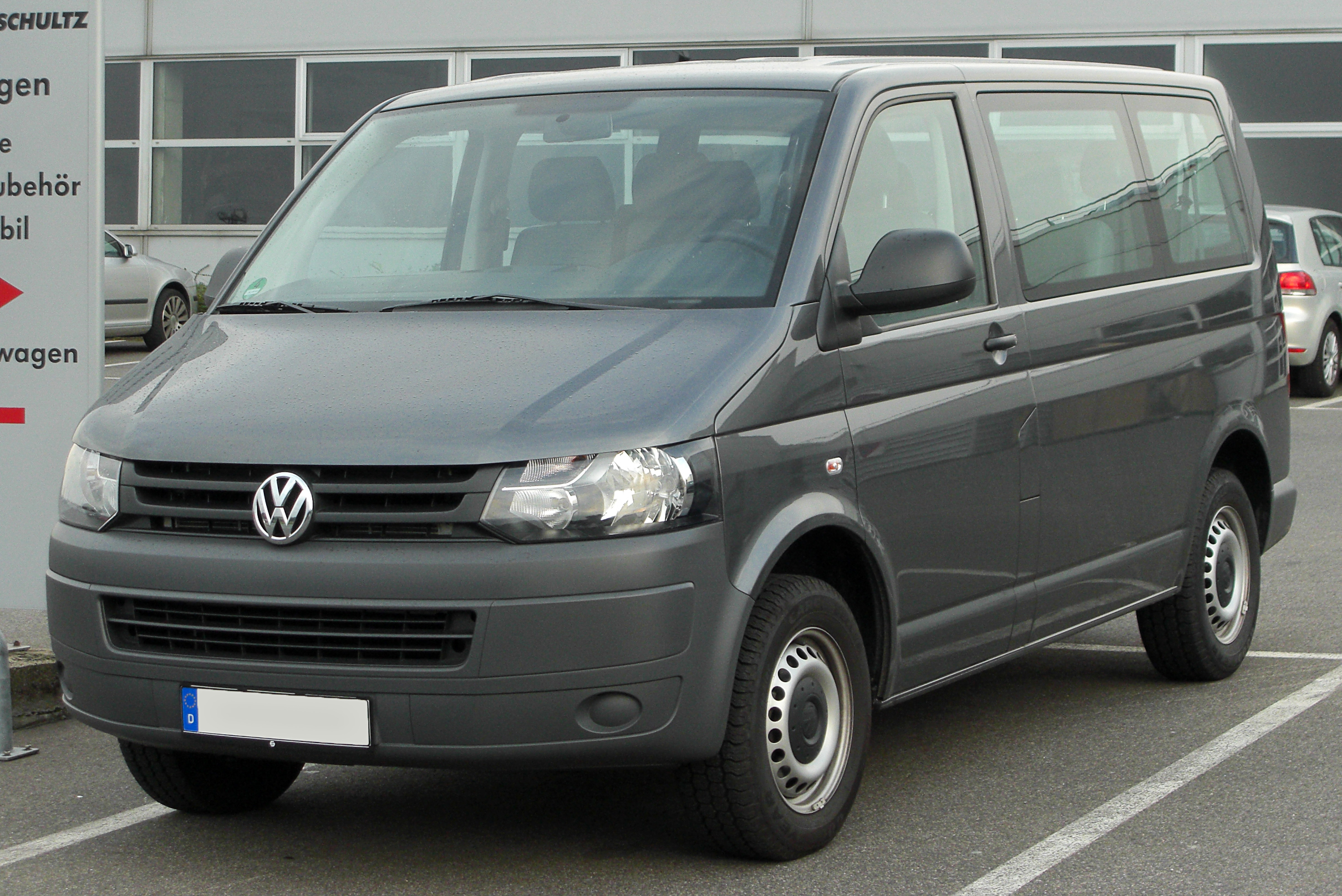 Vw Transporter T5 File Vw Transporter Tdi T5 Facelift Front 20100902 Jpg