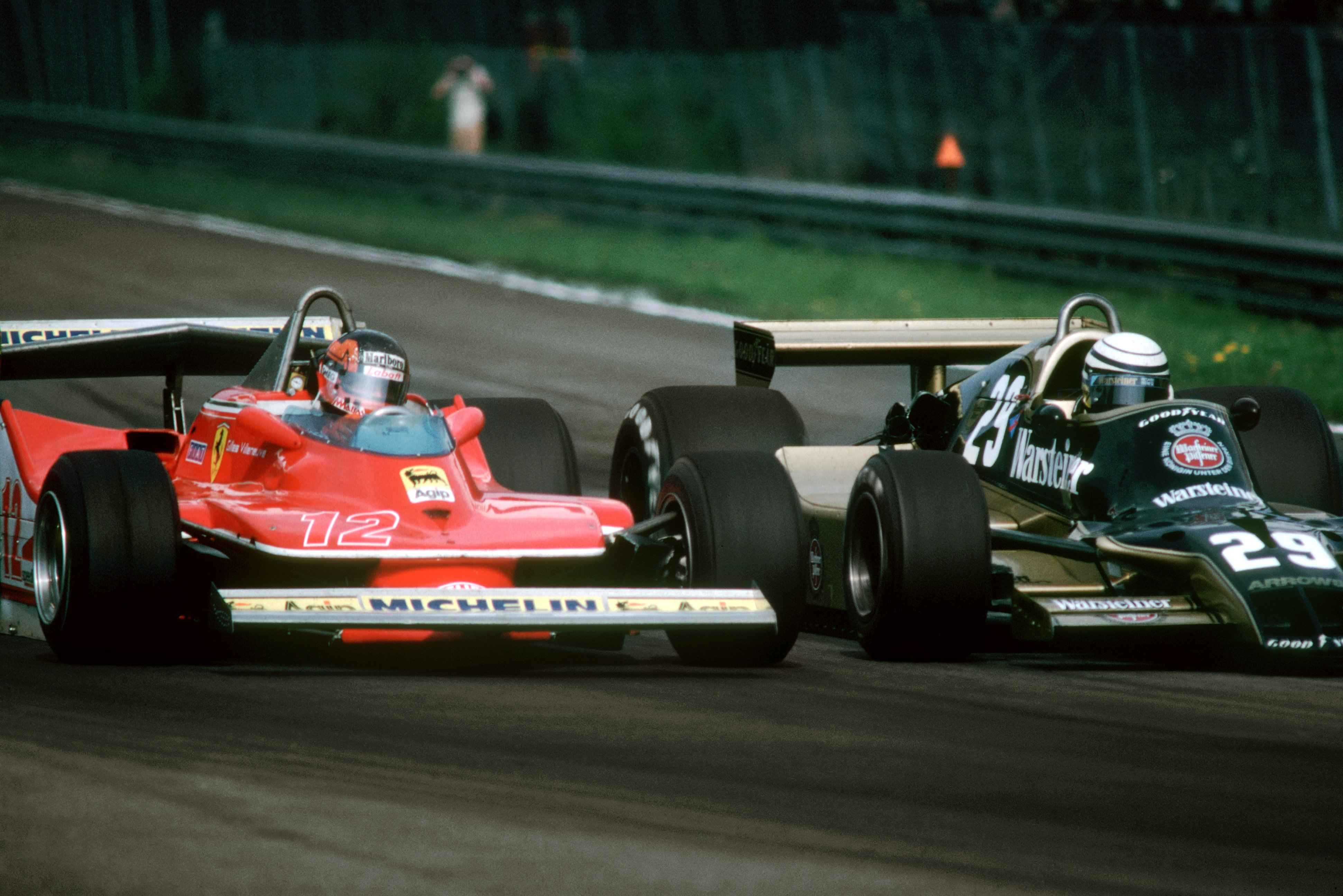 Racing Car Pictures Wallpaper File Gilles Villeneuve And Riccardo Patrese Zolder 1979
