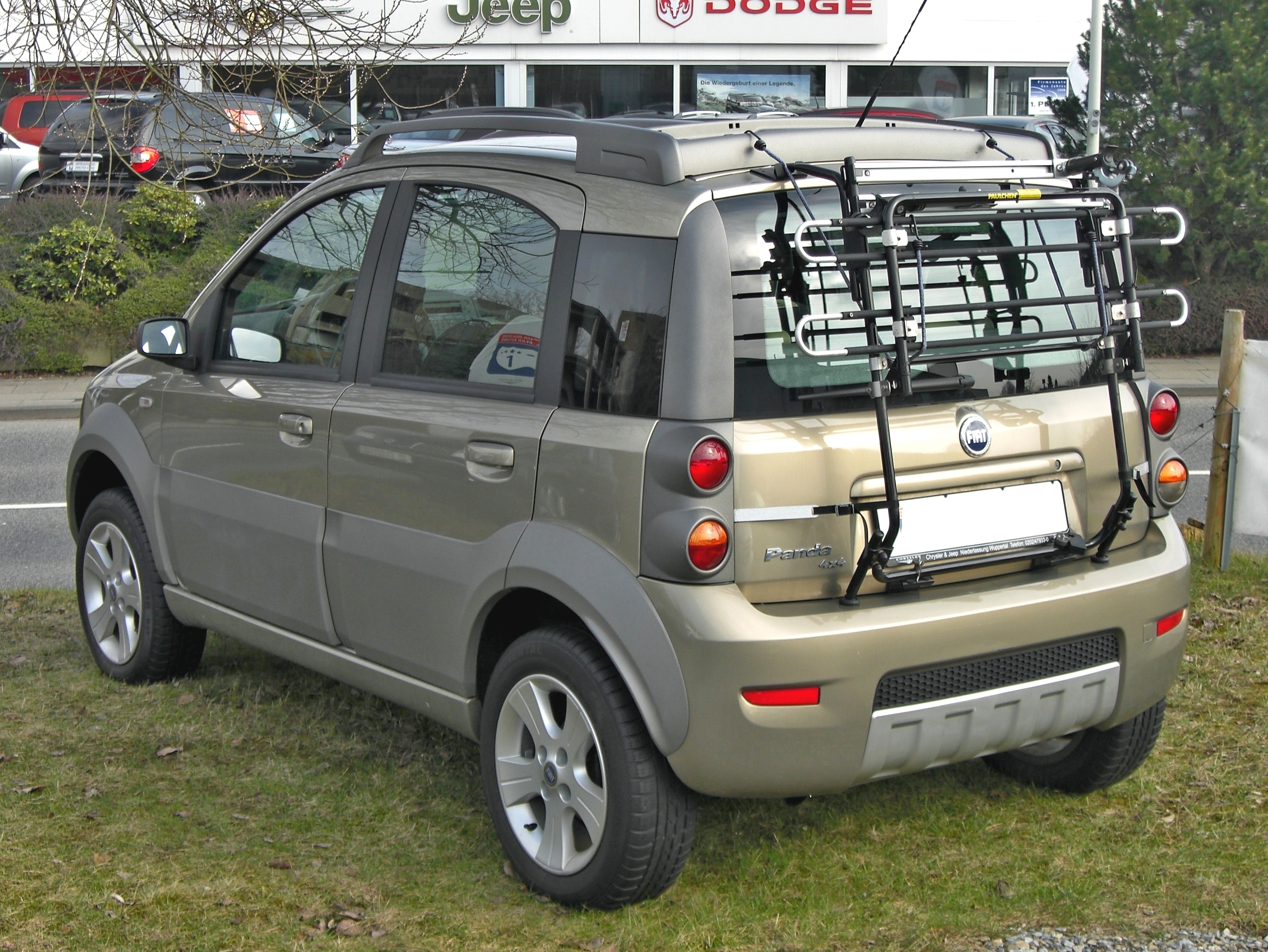 Fiat Wuppertal File Fiat Panda 4x4 20090301 Rear Jpg Wikimedia Commons