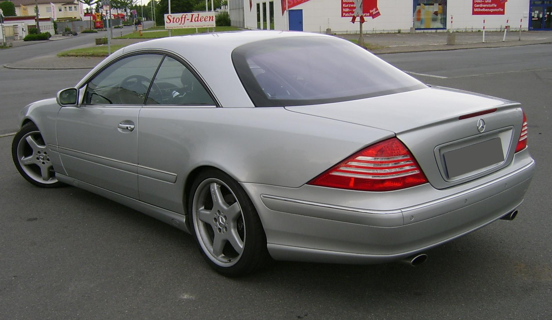 Möbelbezugsstoffe File Mercedes C215 Heck Jpg Wikimedia Commons
