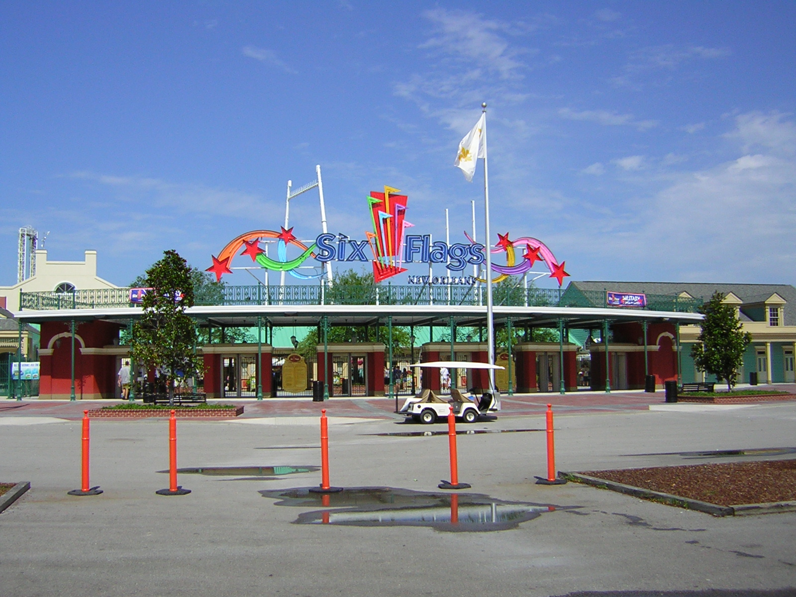 Six Flags Jazzland Six Flags New Orleans Simple English Wikipedia The Free