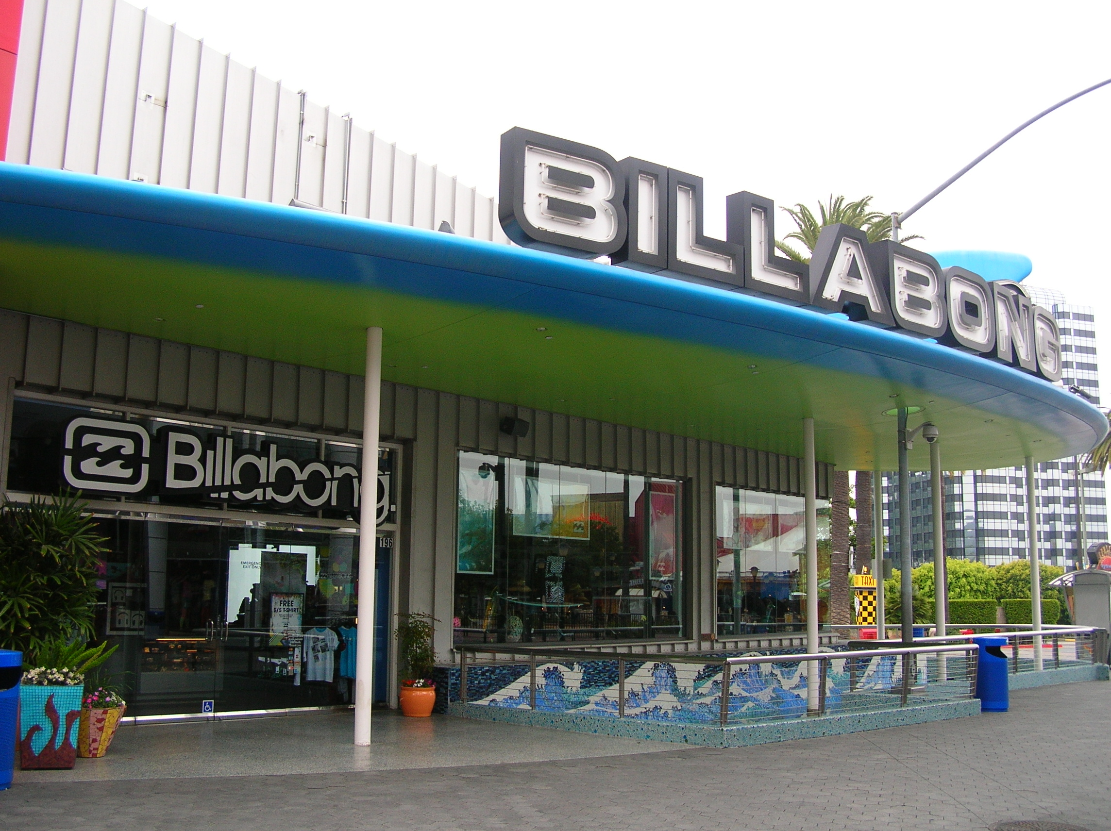 Store Banne Toulon File Billabong Universal Citywalk Hollywood Jpg