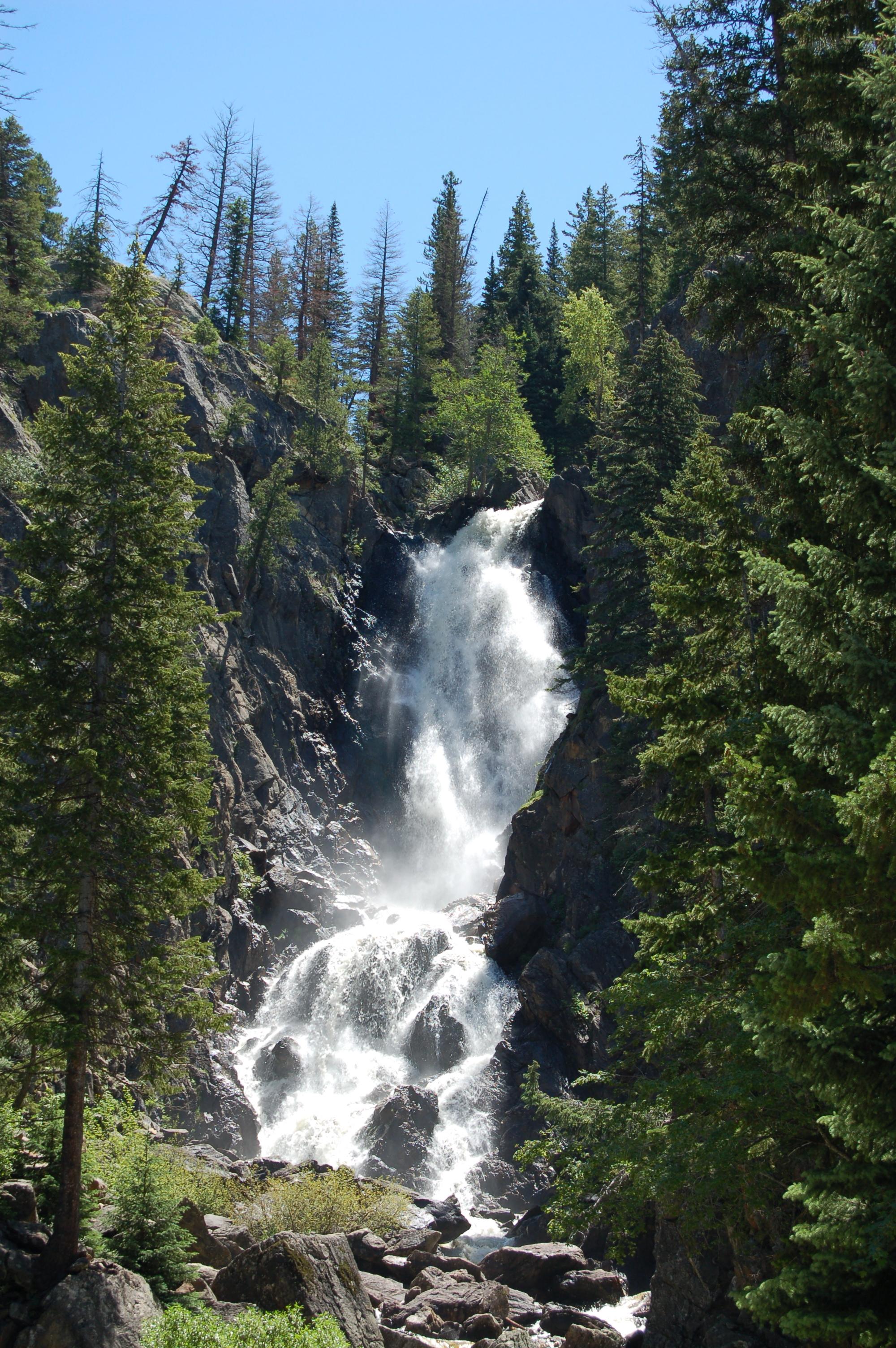 Falls Wallpaper Waterfall File Fish Creek Falls Colorado Jpg Wikimedia Commons
