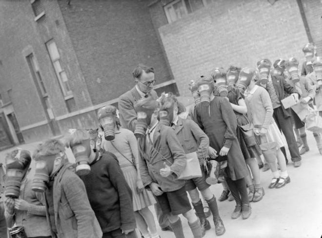 File:London Schools in Wartime- School Life in London, England, 1941 D3162.jpg
