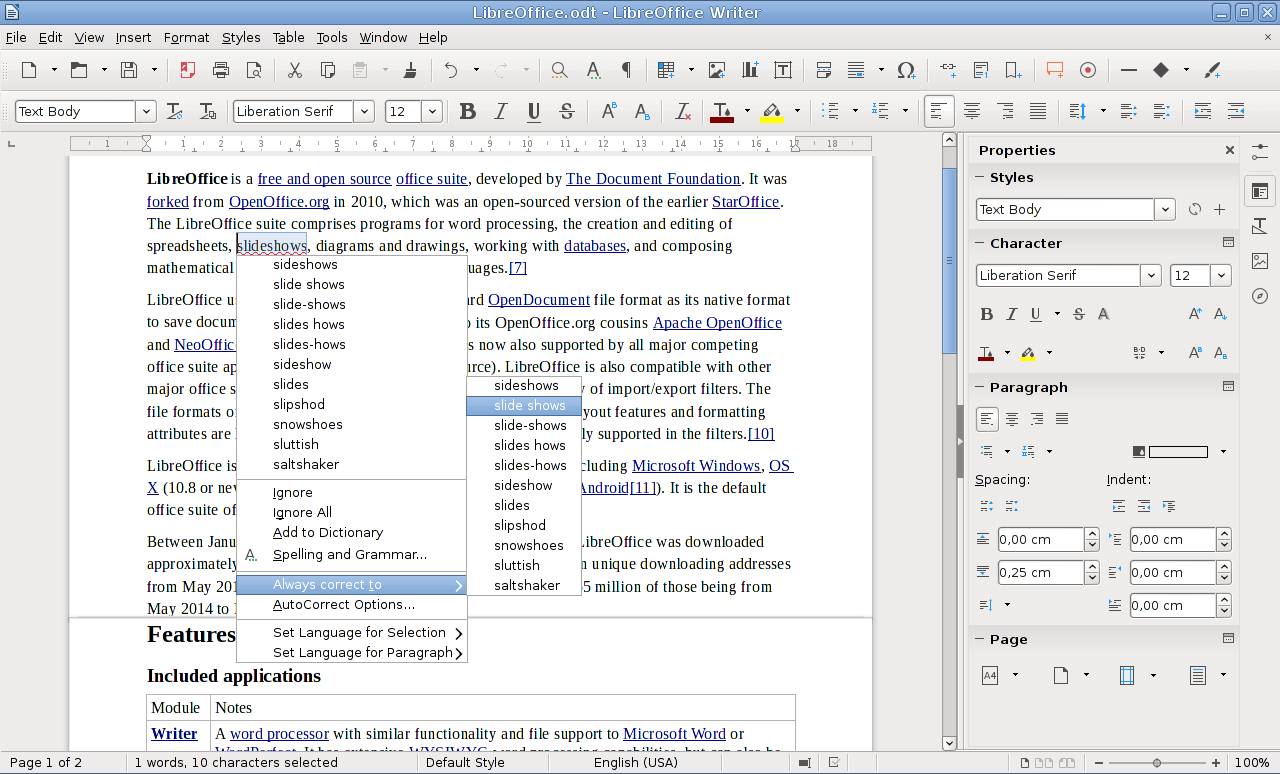 Software Libre Office Archivo Libreoffice Writer 5 1 Breeze Png Wikipedia La