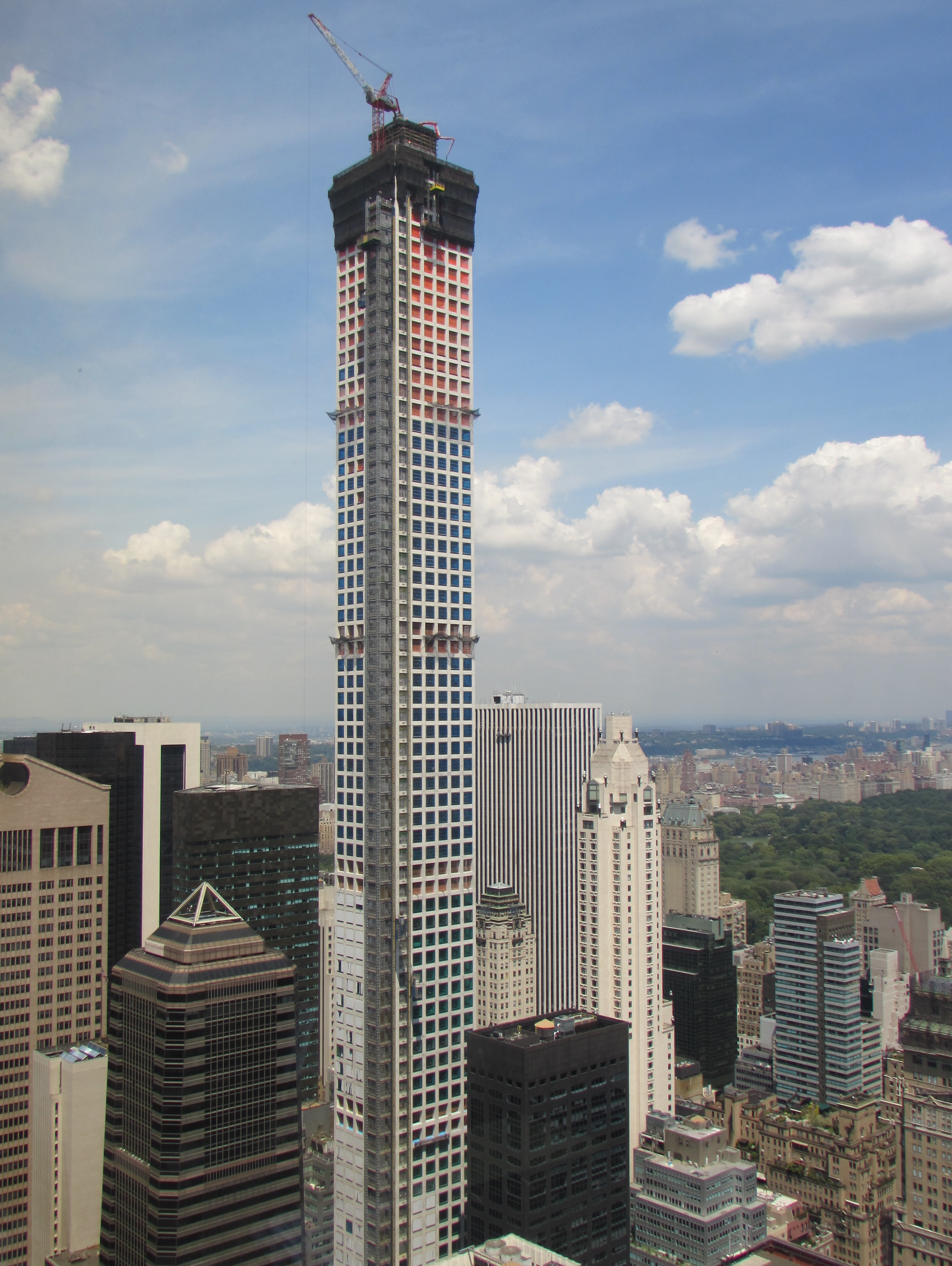 Tallest Residential Building Nyc 432 Park Avenue Wikiwand