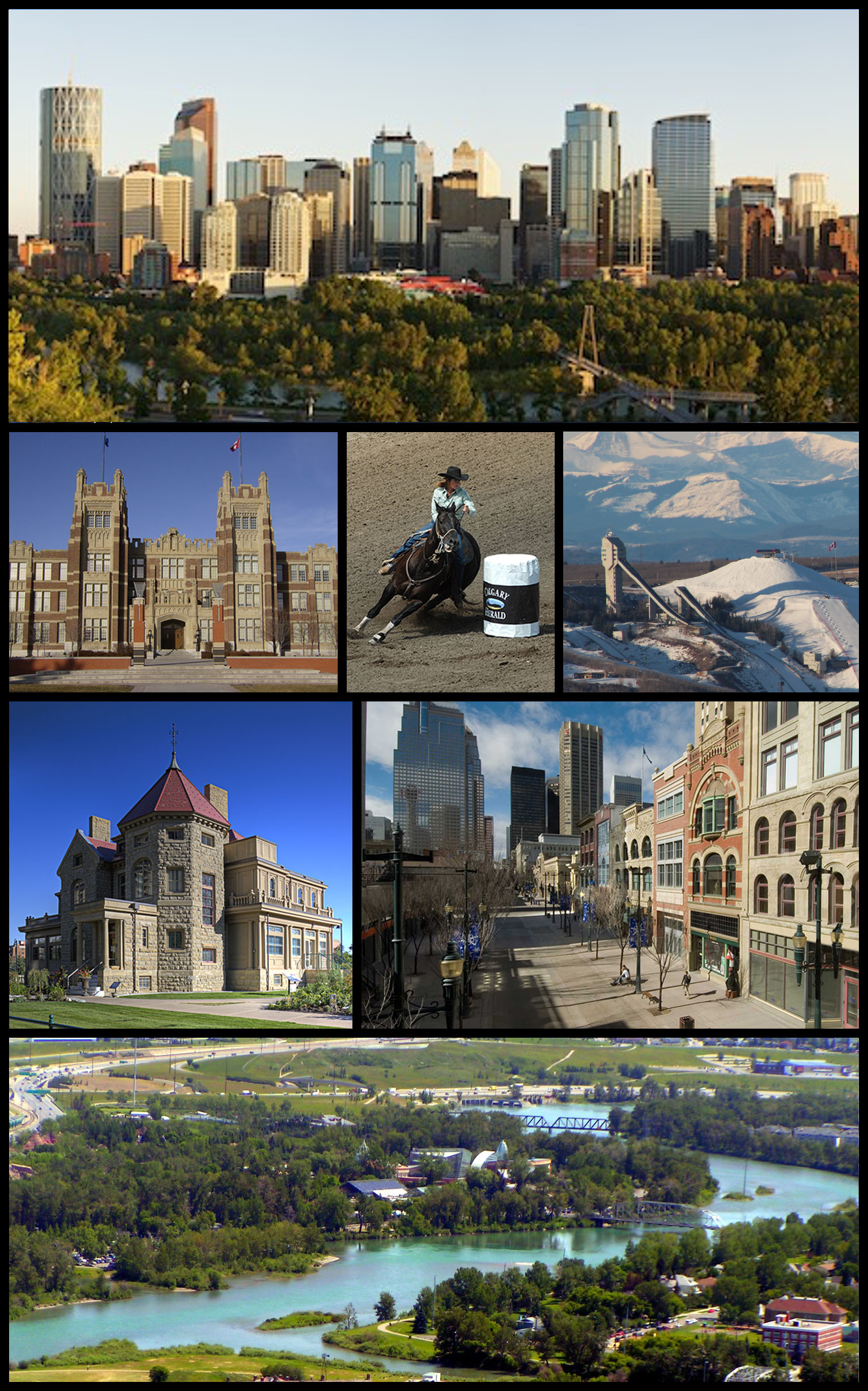Montage Photo Cadre Multiple Calgary Wikipedia