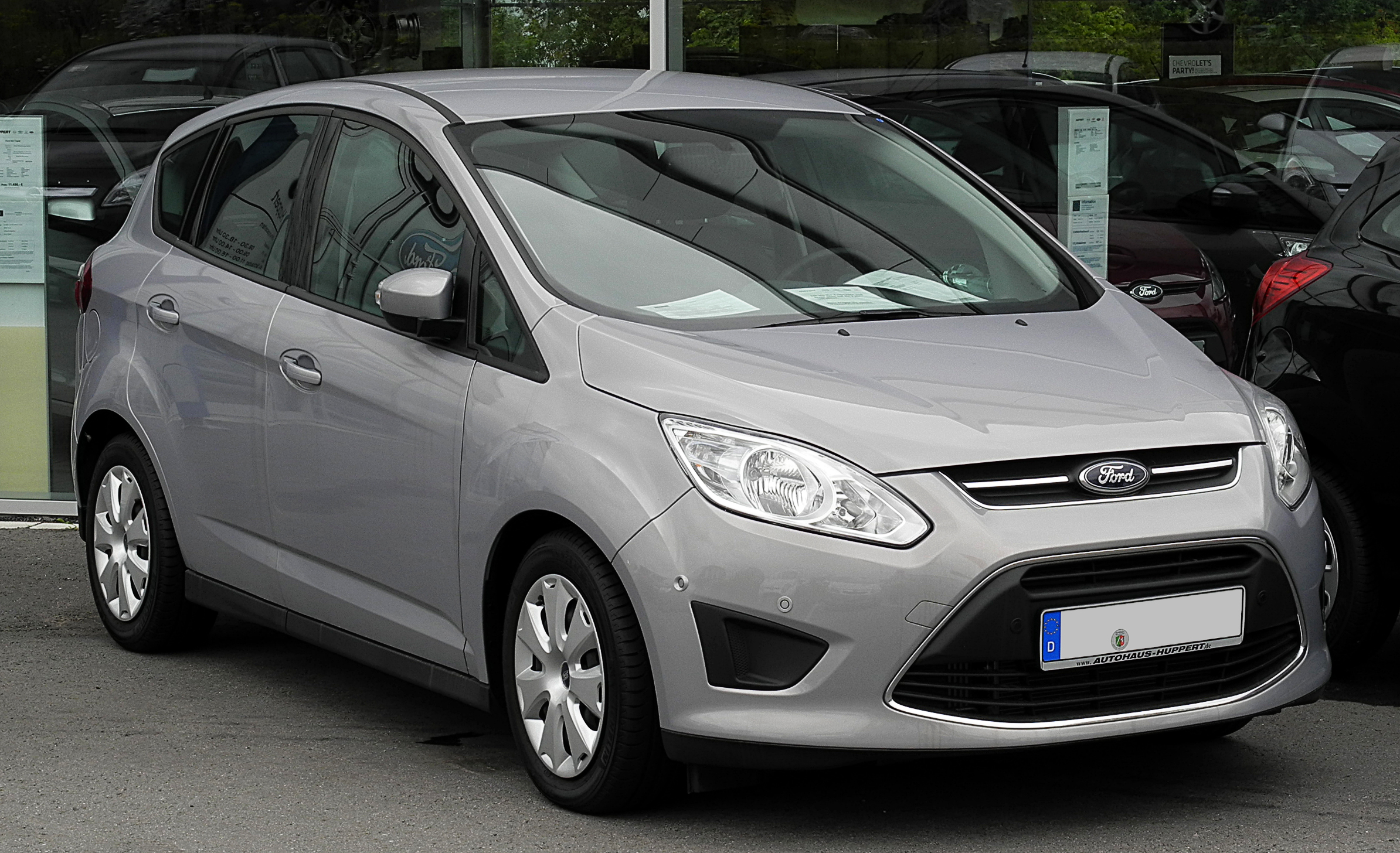 Ford C-max 1.6 Tdci File Ford C Max 1 6 Tdci Trend Ii Frontansicht 30