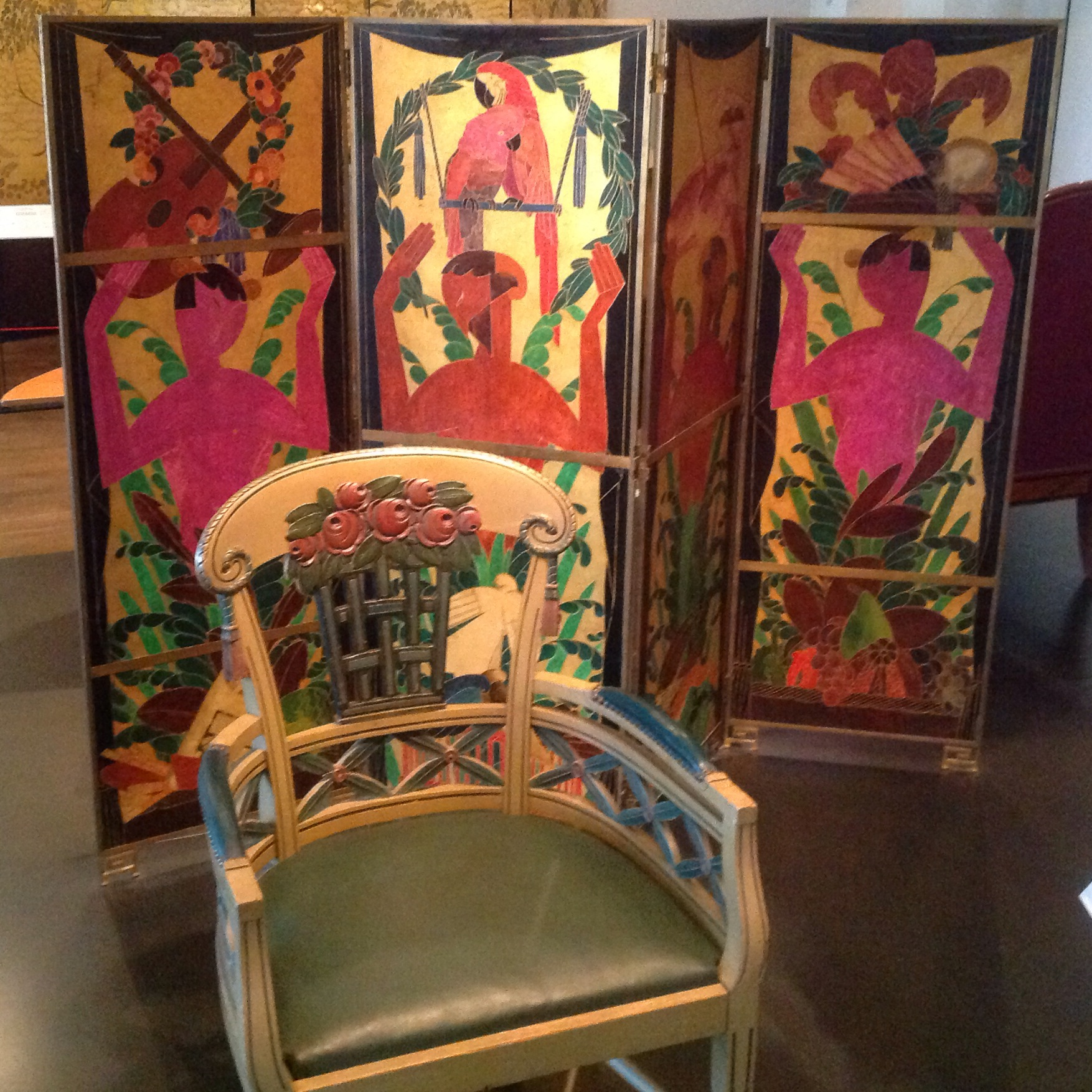 Arte Deco Wikipedia File Art Deco Chair And Screen 1912 And 1920 Jpg