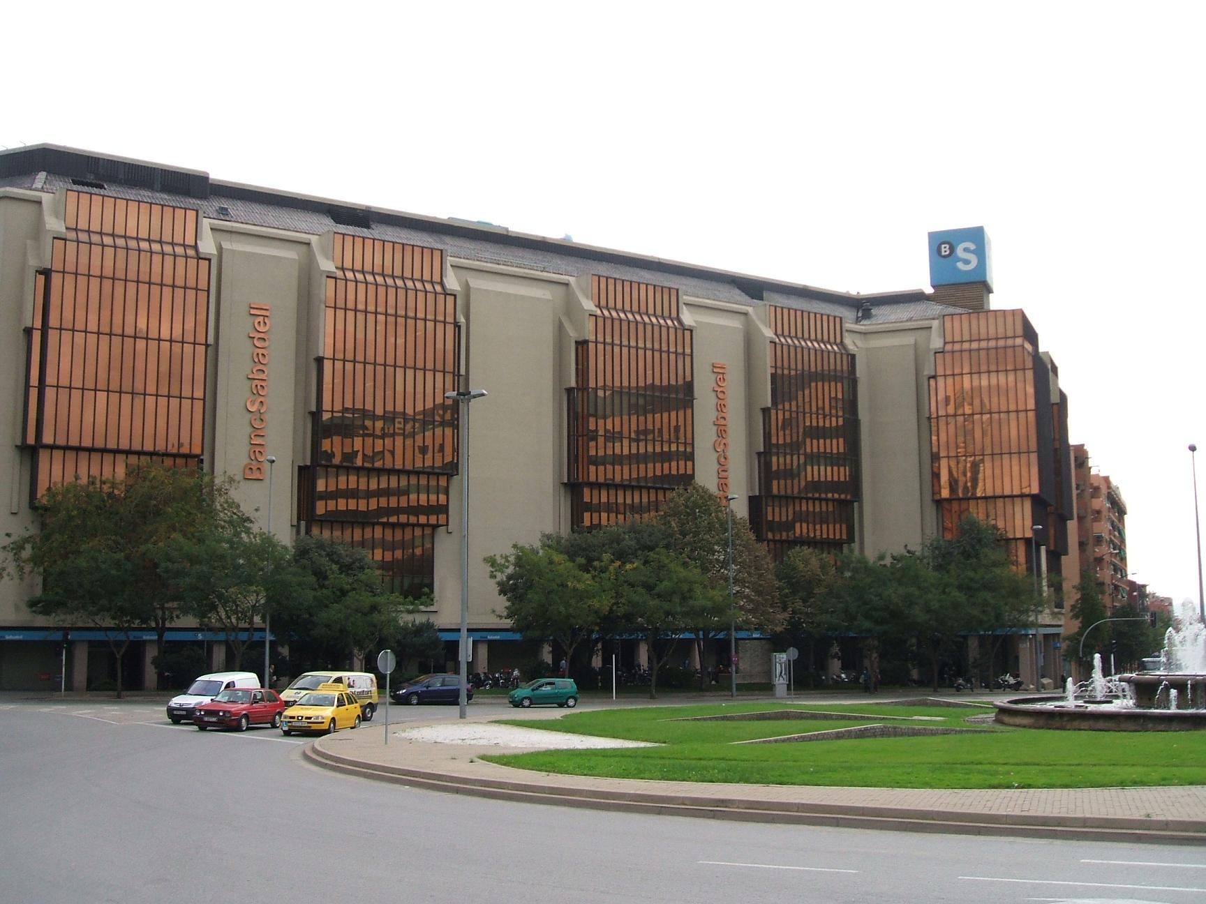 Sabaedell File Bancosabadell Headquarters Jpg Wikimedia Commons