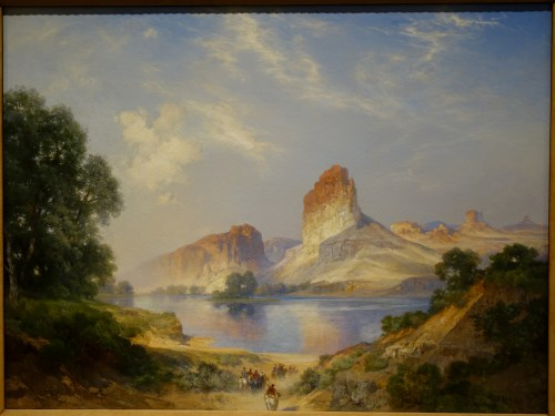 Medium Of Green River Canvas